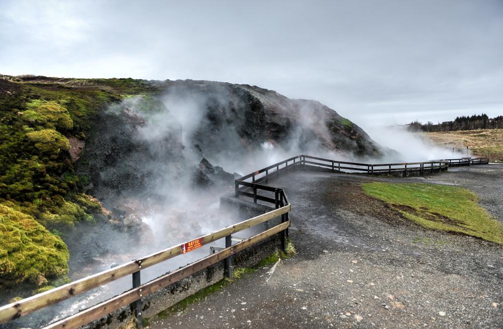 Deildartunguhver on the Iceland Ring Road