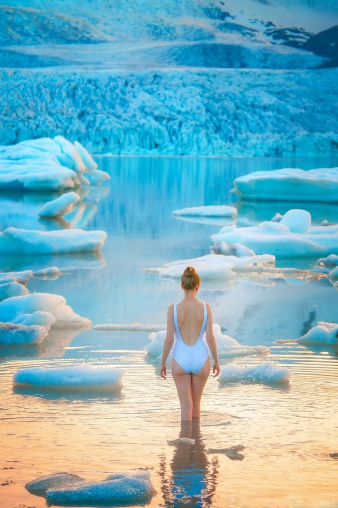 Fjallsarlon Glacier Lagoon on the Iceland Ring Road