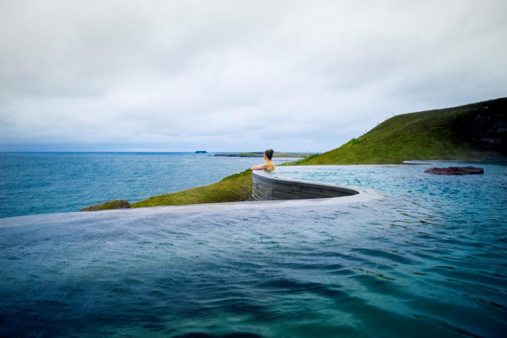 the Geosea Spa on the Iceland Ring Road