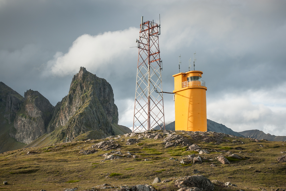 the Hvalnes Lighthouse on the Iceland Ring Road
