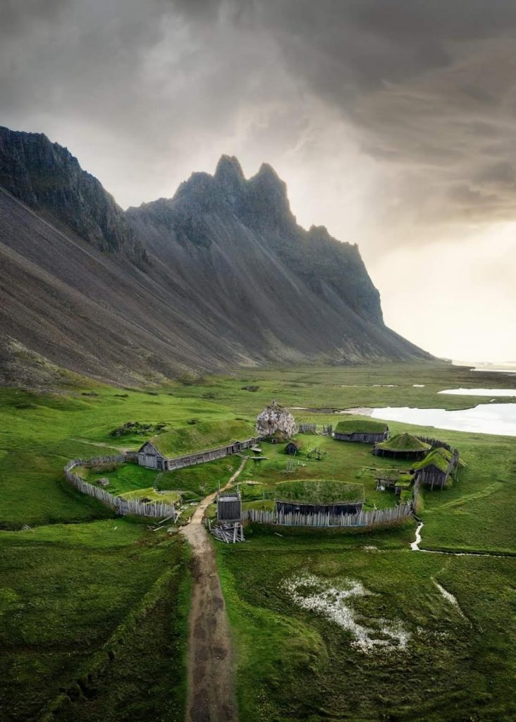 the Stokksnes Viking Village on the Iceland Ring Road