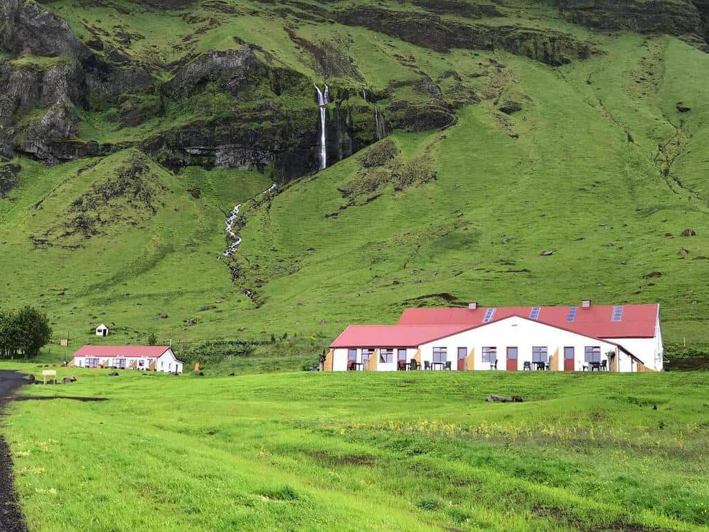 The garage apartments, one of the best places to stay in Iceland