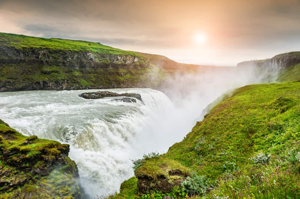 the Golden Circle is where to stay in Iceland to see Gullfoss