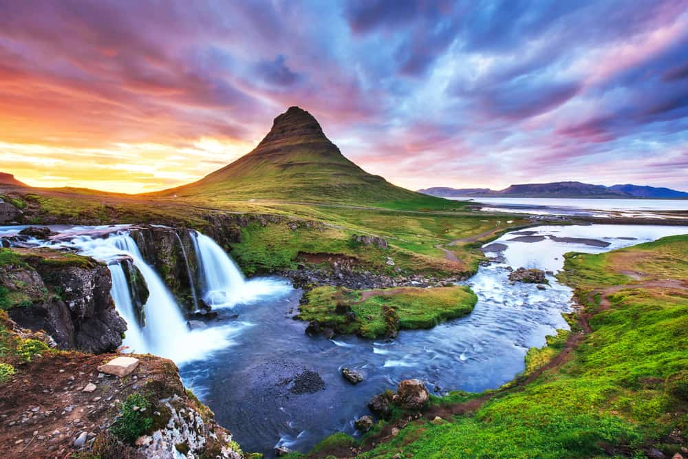 the Snaefellsness Peninsula is where to stay in Iceland to see Kirkjufell