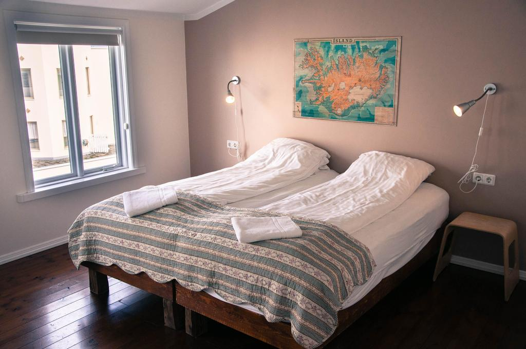 Photo of guest room at Akureyri Backpackers located in Iceland.