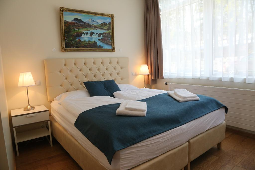 Photo of guest room at Hotel Kjarnalunder located in Iceland. One of the best Akureyri hotels.