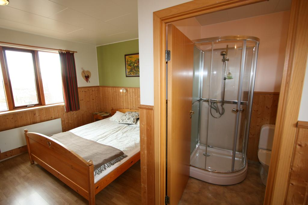 Photo of guest room at Arnanes Country Hotel which is located in Iceland and is one of the best Hofn Hotels.