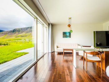 Photo of guest room at Fosshotel Vatnajokull located in Iceland.