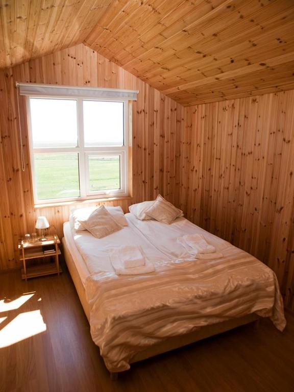Photo of guest room at Guesthouse Nypugardar which is located in Iceland and is one of the best Hofn Hotels.