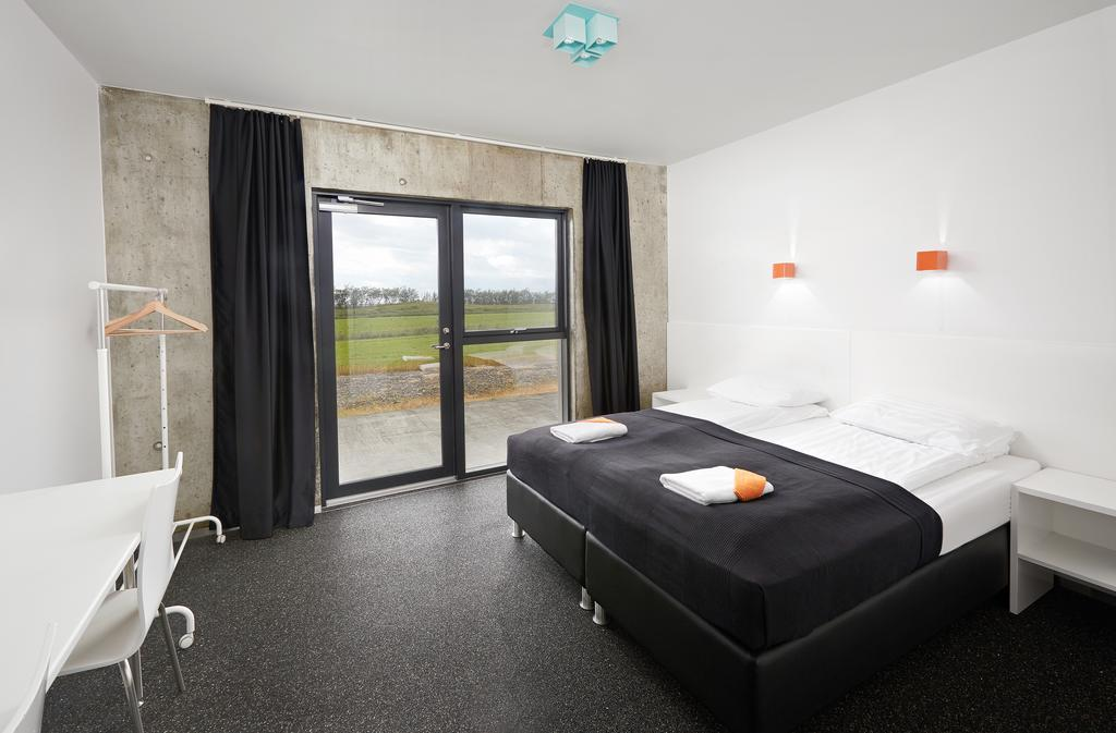 Photo of a guest room at Seljavellir Guesthouse which is located in Iceland.