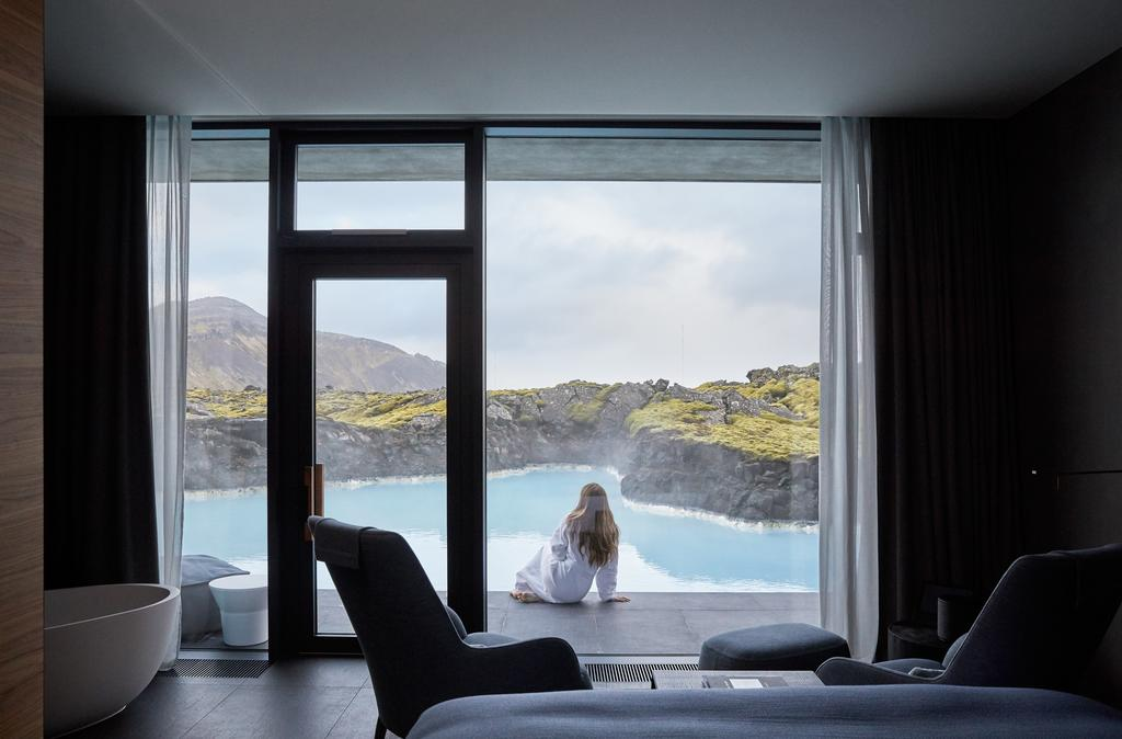 the blue lagoon is one of the best luxury hotels in iceland