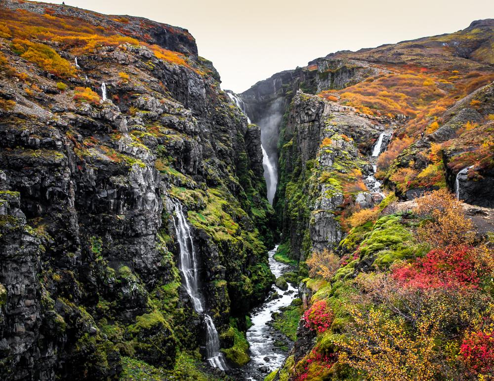 Reykjavik Day Trips Glymur Waterfall