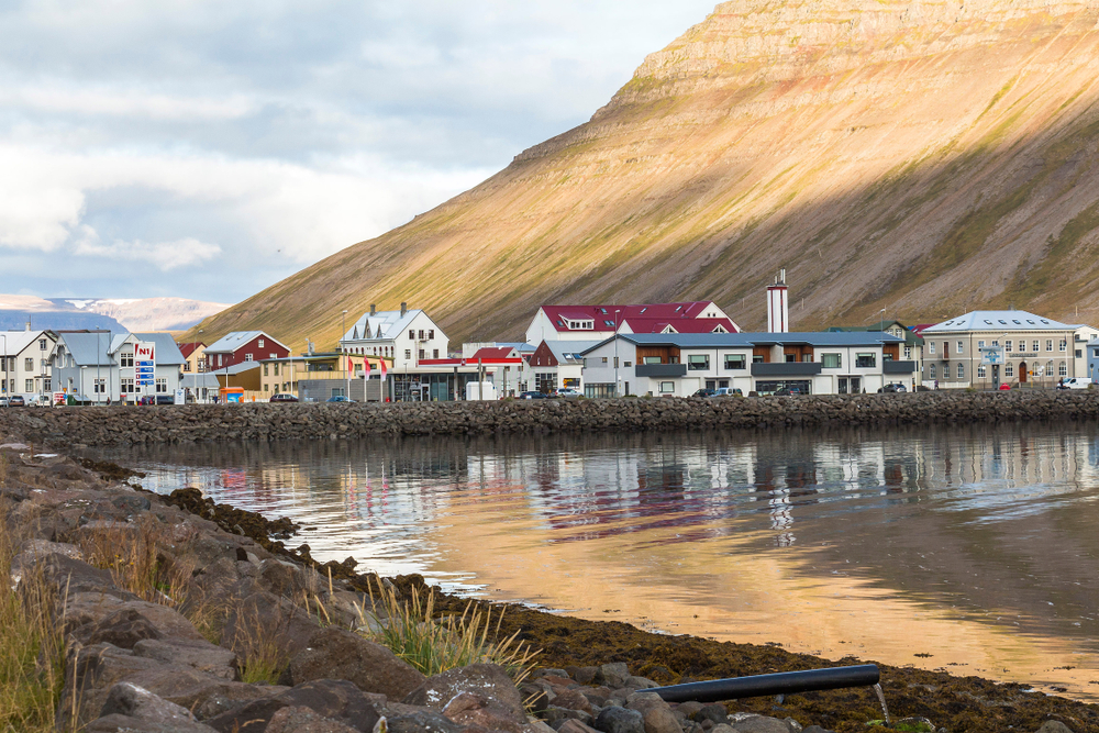 None of the towns in Iceland compare to the beauty of Isafjordur
