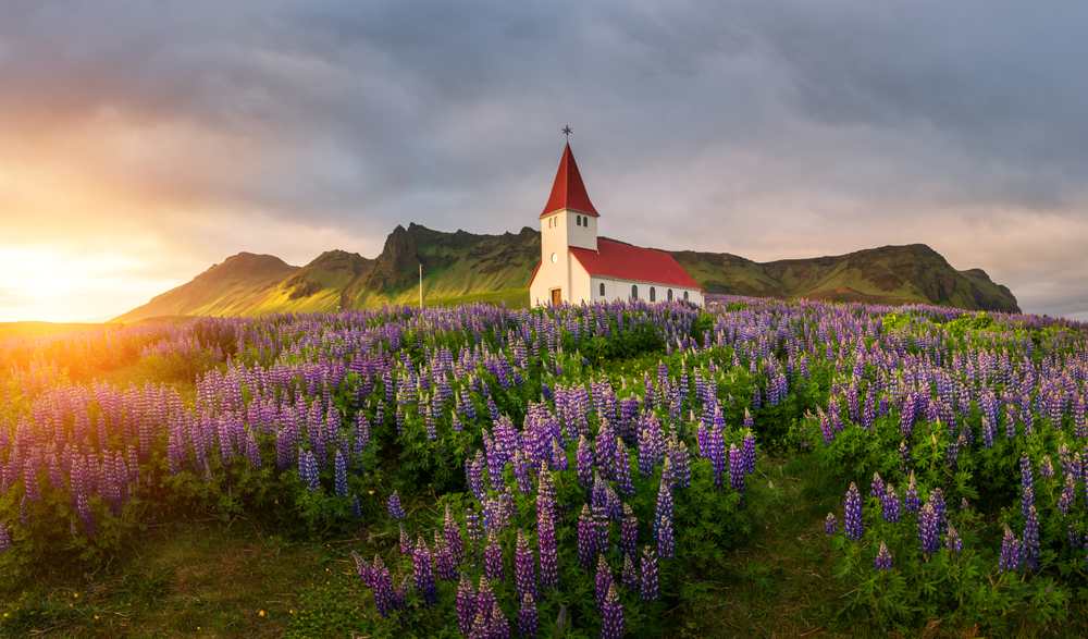 Vik ist eine der schönsten Städte Islands