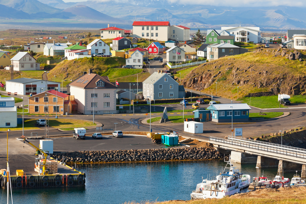 Stykkisholmur is one of the marvelous towns in Iceland