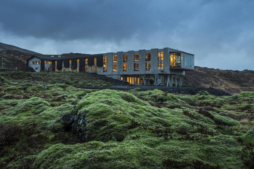 The Ion Adventure Hotel along the Golden Circle Iceland