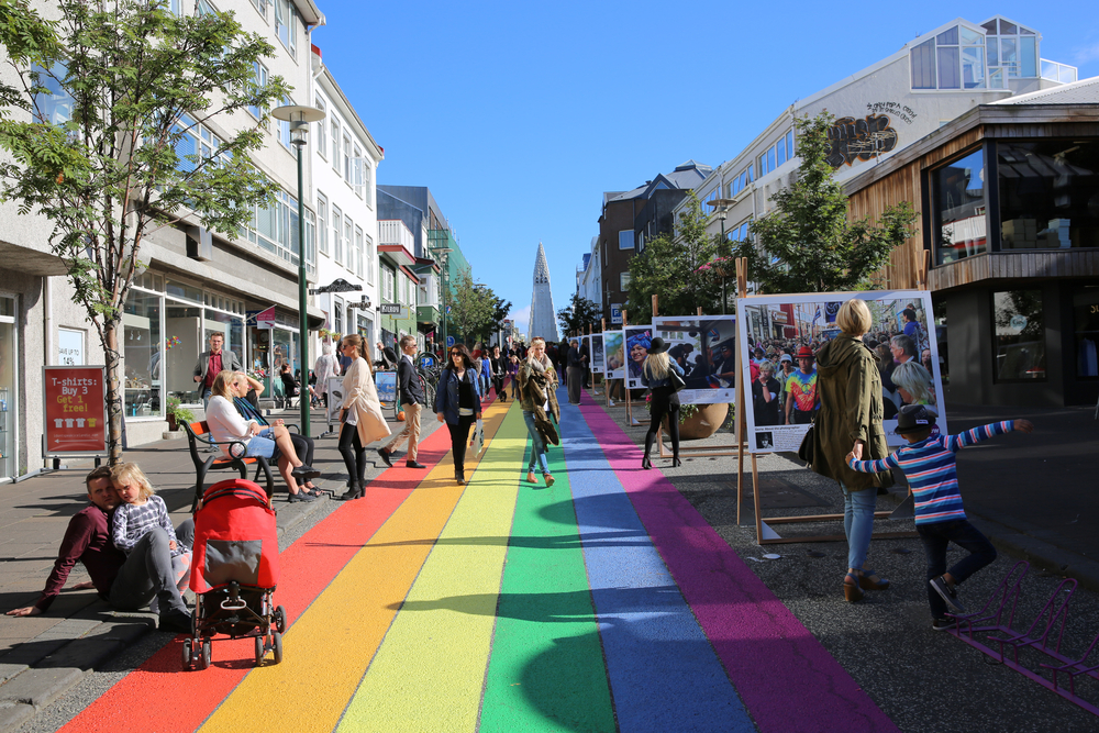 the Reykjavik Pride Festival in Iceland in August