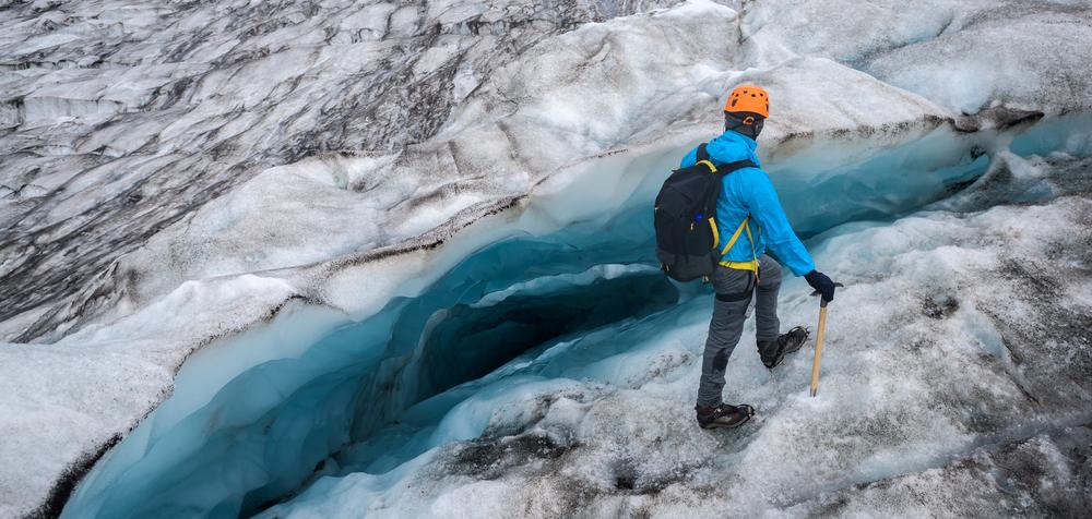 Ice climbing is a unique way to explore Iceland glaciers