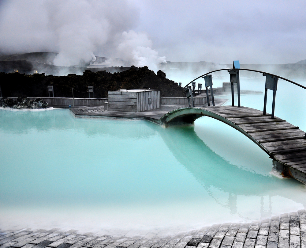 The Blue Lagoon in Iceland on the Golden Circle Tours