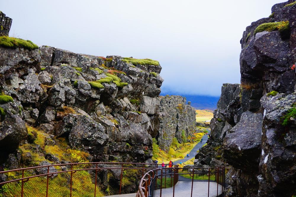Thingvellir National Park on a Golden Circle tours