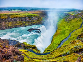 Gullfoss waterfall on Golden Circle Tour