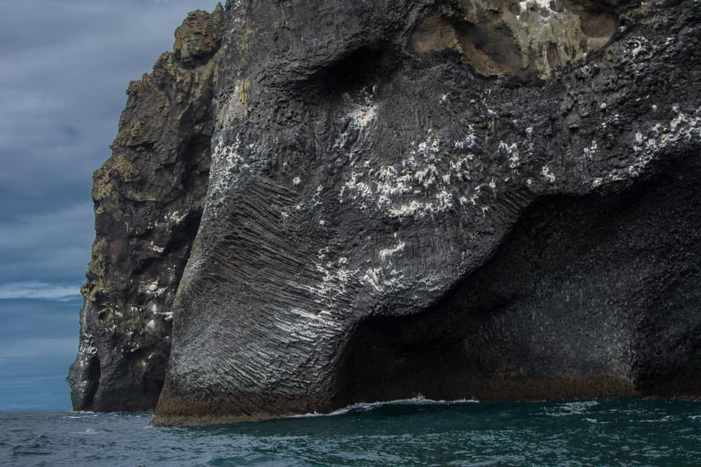 rock in iceland shaped like elephant