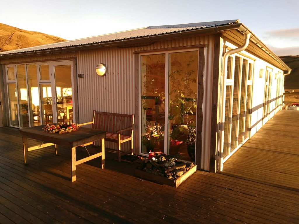 Bed & Breakfast at sunset airbnb in Iceland