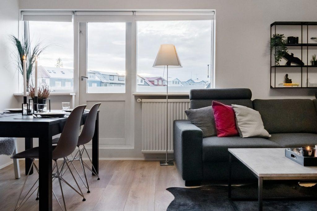 Interior airbnbs in iceland Reykjavik
