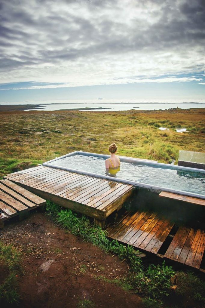 Djupavogskorin Hot Spring is a place to relax in East Iceland.
