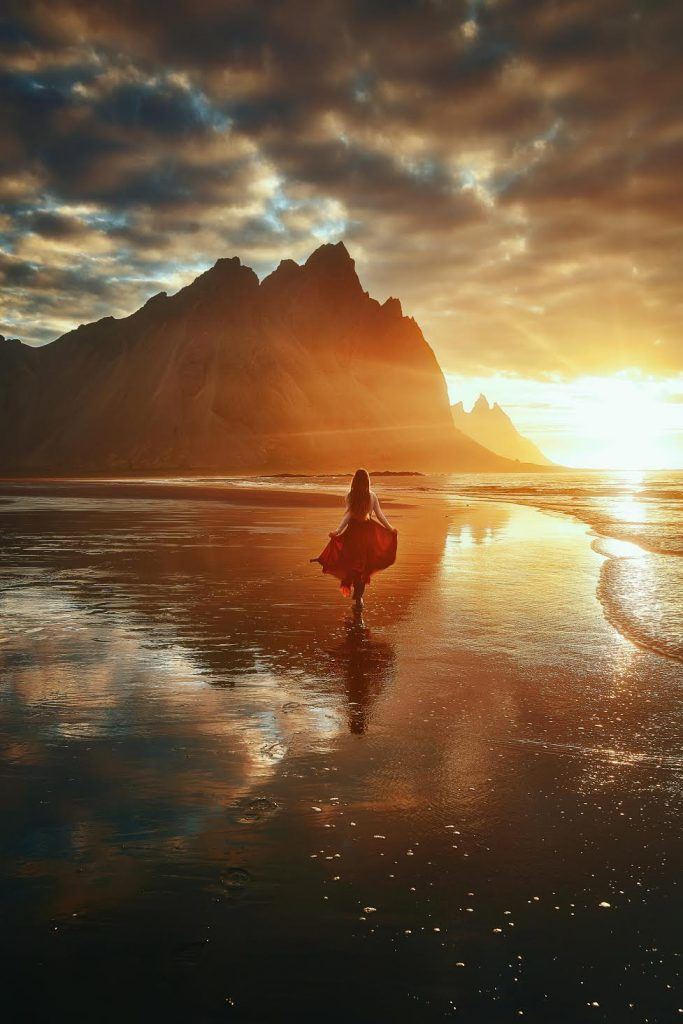 You will definitely want to take some pictures of the Vestrahorn mountain when you visit east Iceland.