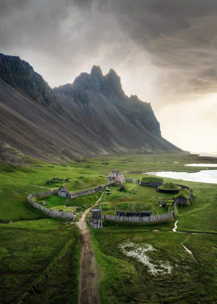 The replica Viking village is super cool and unique.