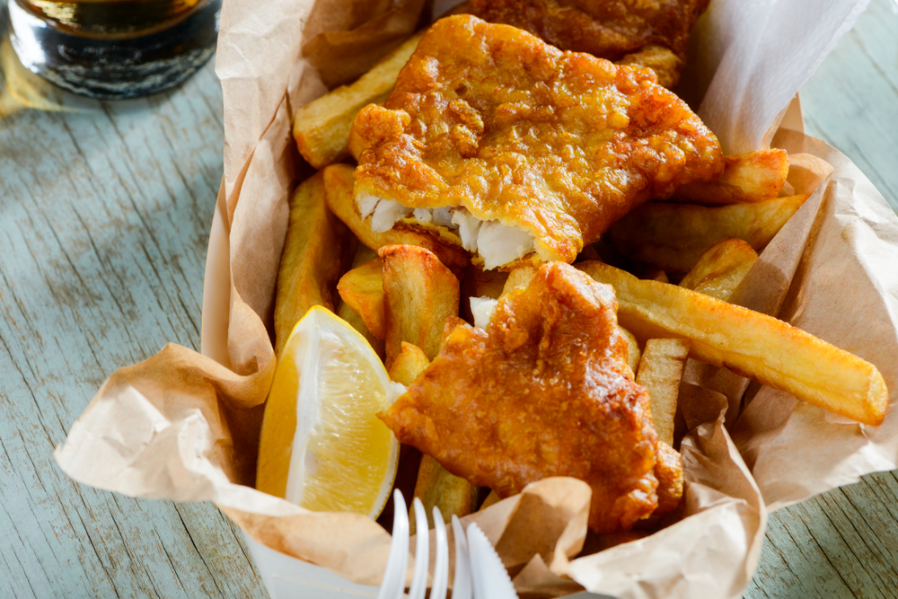 fresh fish and classic chips like you can find at Reykjavik Fish