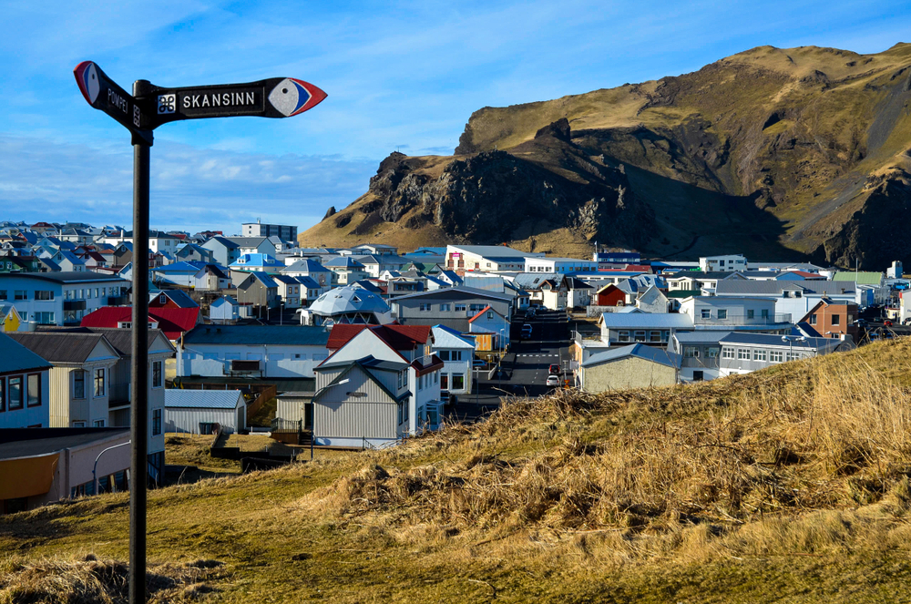 Heimaey Island is actually the capital of the Westman Islands and is the largest if the West Islands in Iceland