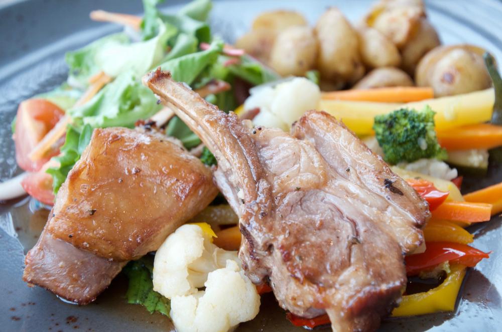 Lamb dish in Iceland